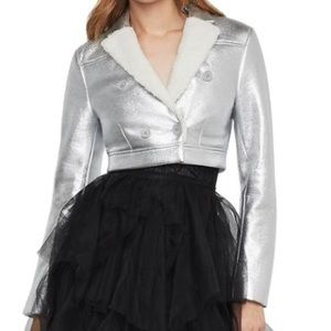 Gorgeous silver jacket